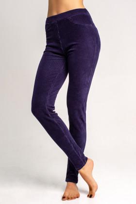Леггинсы-брюки вельветовые Legs L1452 LEGGINGS VELVET RIB