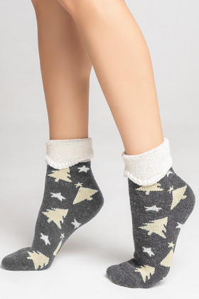 Носки теплые с ангорой LEGS SA4 SOCKS ANGORA TERRY