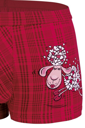 Трусы-боксеры с принтом Cornette 010/57 Lovely sheep