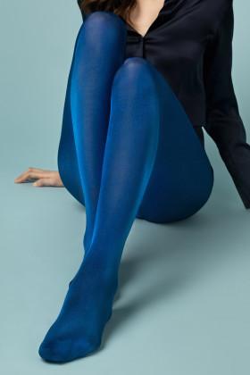 Колготки синие с блеском Fiore GLOSSY 60 den