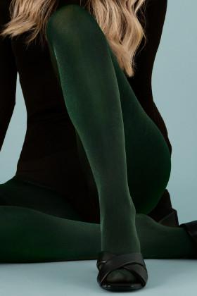 Колготки зеленые с блеском Fiore GLOSSY 60 den