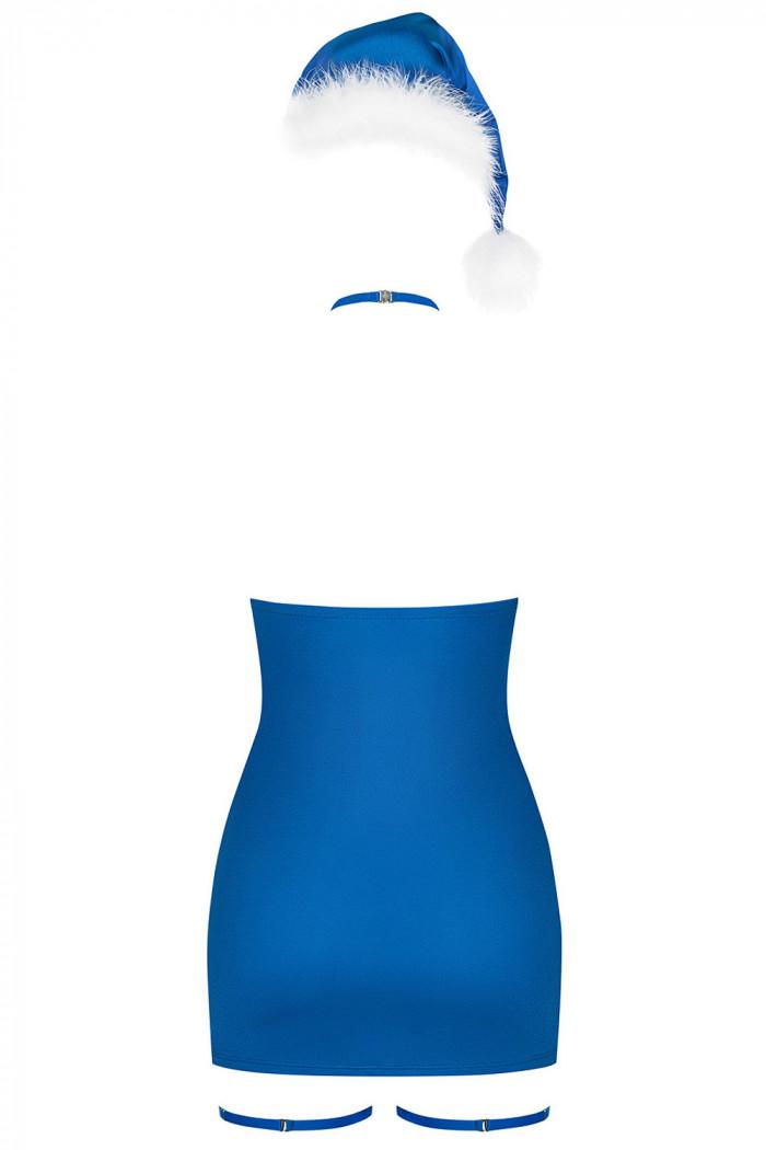 Сорочка с новогодними аксессуарами Obsessive Kissmas chemise