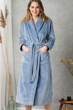Теплый женский халат Key LGL 115 B20