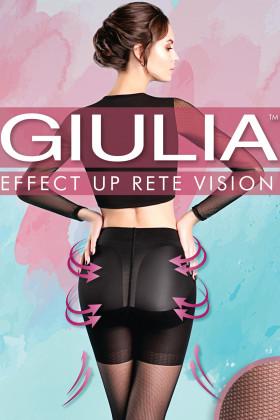 Коригувальні колготки мікротюль GIULIA Effect Up Rete Vision 40 den