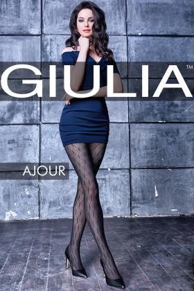 Ажурные колготки с узором GIULIA Ajour model 3