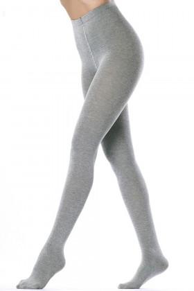 Меланжеві бавовняні колготки GIULIA Melange Cotton 200