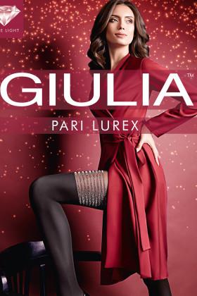 Колготки з імітацією панчіх і люрексом GIULIA Pari Lurex model 2