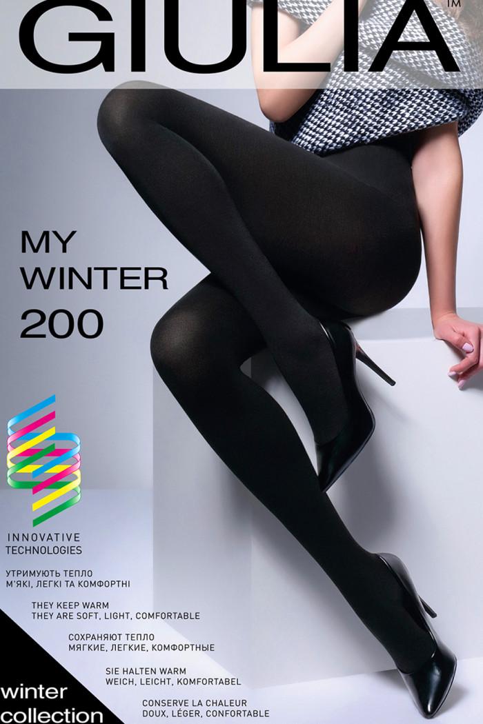 Теплые колготки GIULIA My Winter 200 den