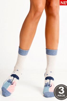 Набор хлопковых носков LEGS SOCKS 93 (3 пары)