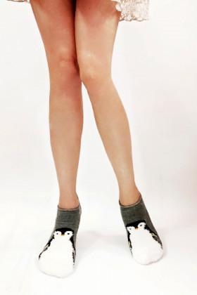 Носки махровые с пингвинами LEGS SOCKS TERRY AKRYL TA 20