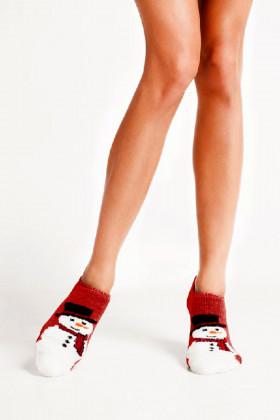 Носки махровые со снеговиками LEGS SOCKS TERRY AKRYL TA 20