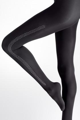 Колготки с заклепками и поясом на силиконе Marilyn BRADS T19