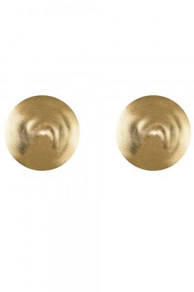 Золотые накладки на грудь Obsessive A753