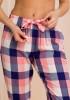 Пижама женская в клетку Key LNS 405 B20