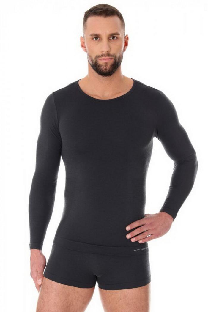 Футболка из мериносовой шерсти Brubeck Comfort Wool LS11600