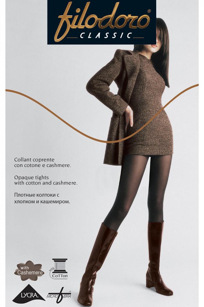 Бавовняні колготки з кашеміром FILODORO Cotton Cashmere