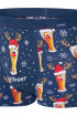 Труси чоловічі новорічні Cornette 007/53 Beer