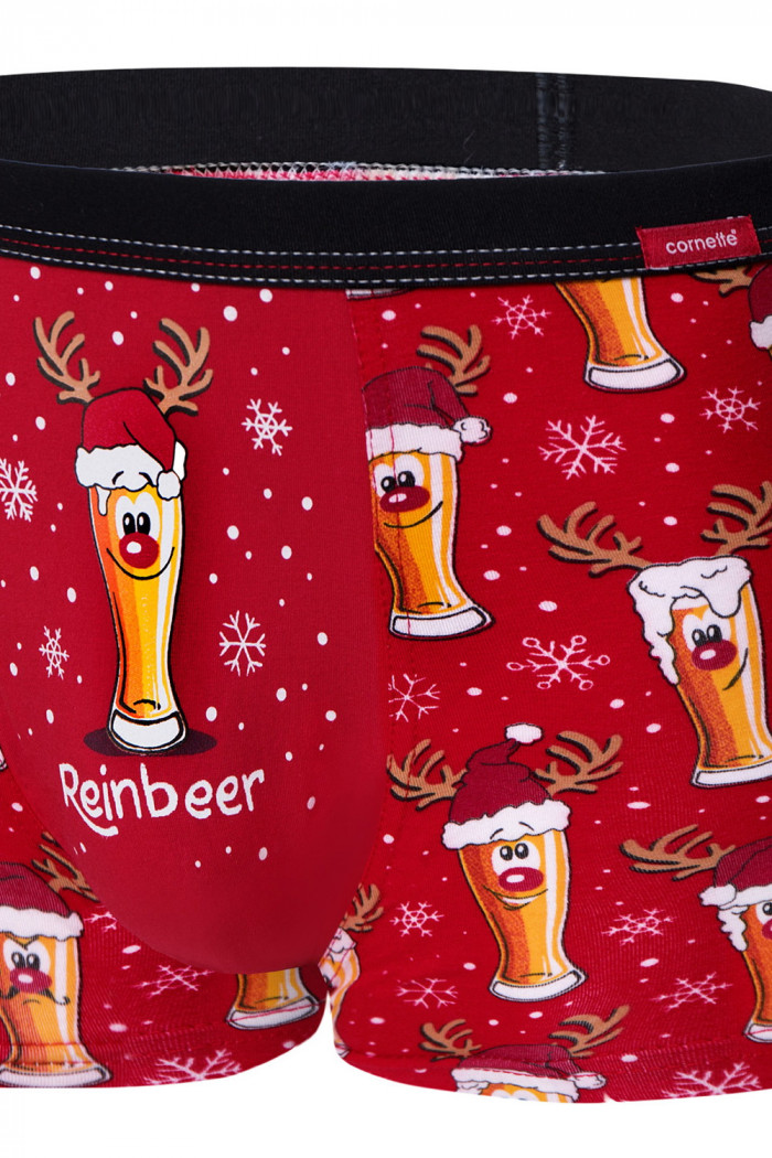 Труси чоловічі новорічні Cornette 007/54 Beer 2
