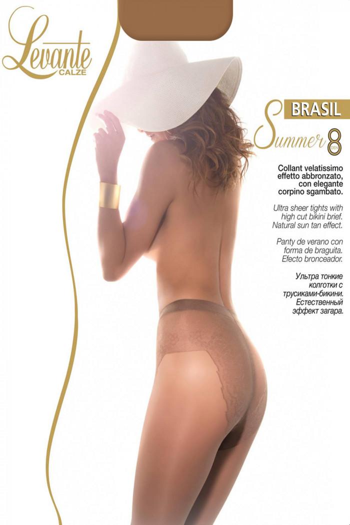 Тонкие колготки Levante Brasil Summer 8 den
