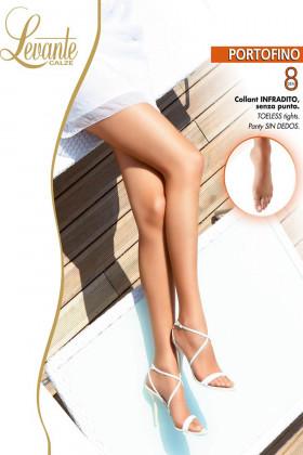 Літні колготки з відкритими пальчиками Levante Portofino 8den