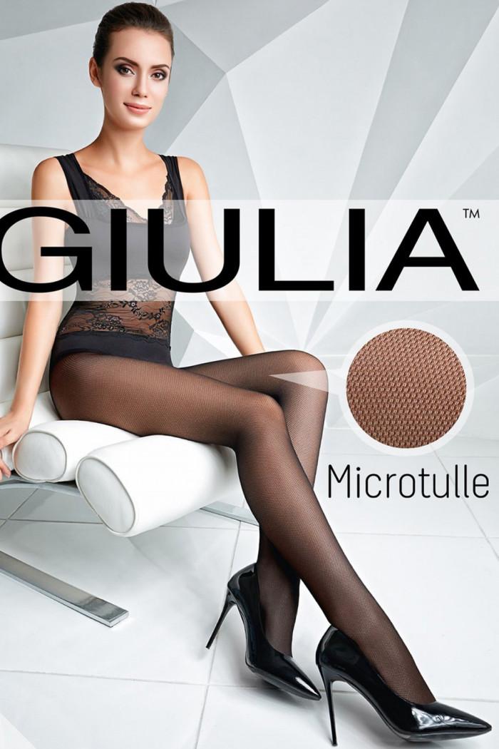 Колготки микросетка GIULIA Microtulle 40 model 1