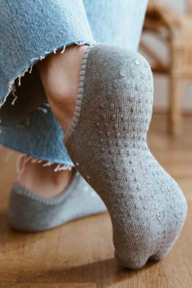 Махровые носки-следы ABS Steven art.132 Snow