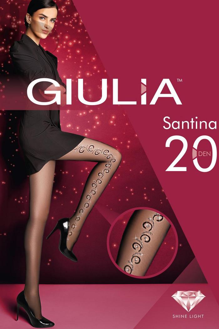Колготки з люрексом GIULIA SANTINA 20 model 10