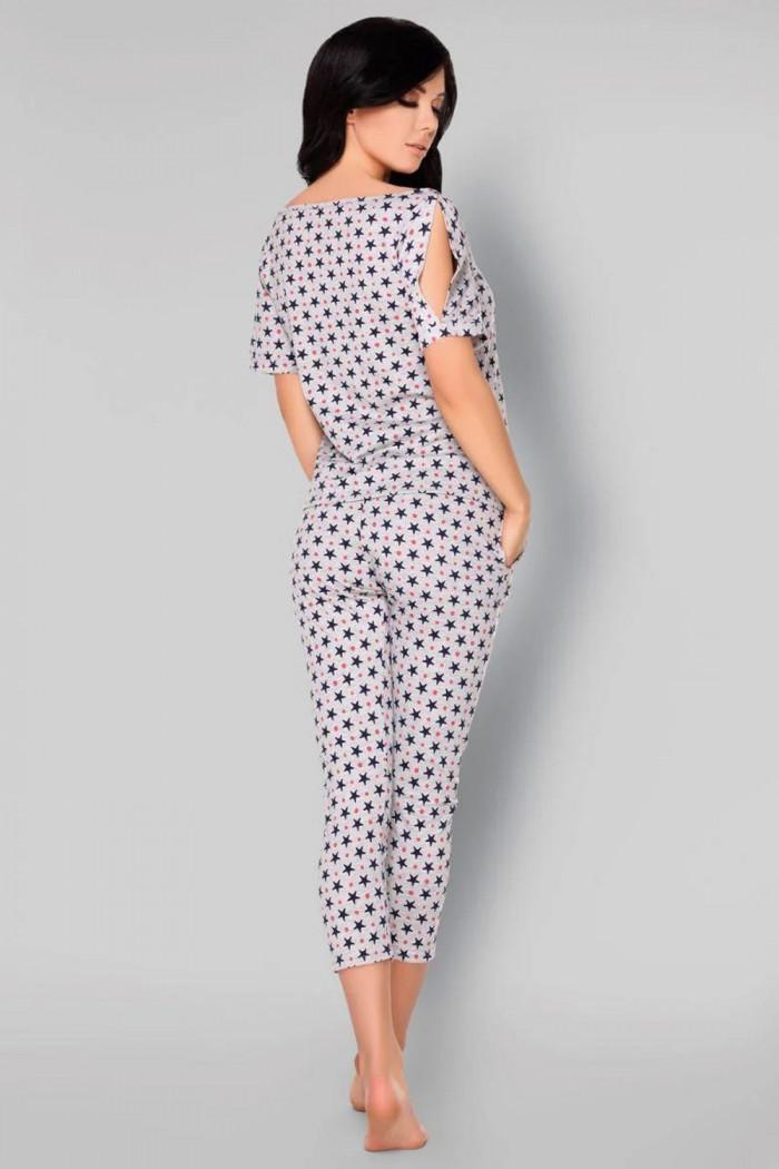 Пижама хлопковая со штанами Livia Corsetti Anahila