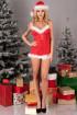 Сорочка з новорічними аксесуарами Livia Corsetti Agethe