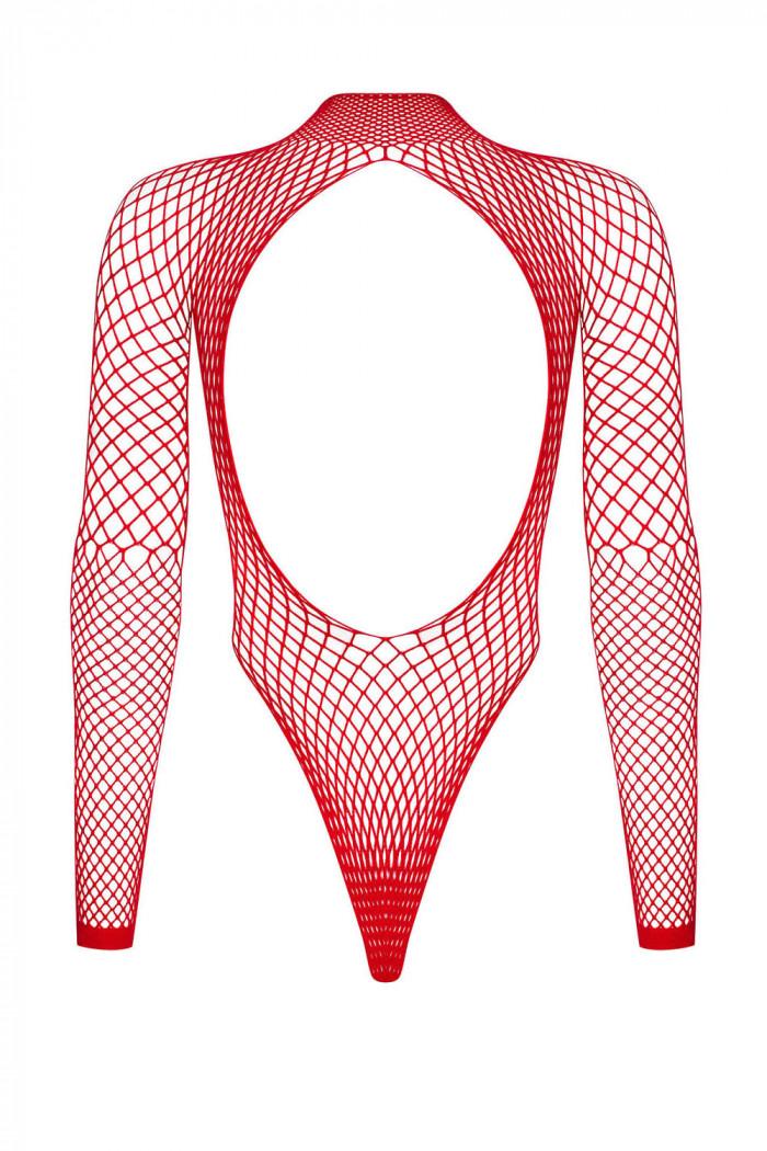 Боді-сітка з відкритою спиною Obsessive B126