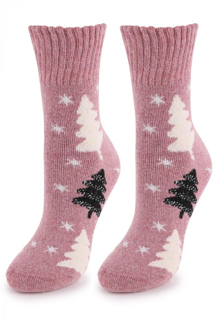 Носочки теплые с шерстью MARILYN Angora No Terry R25