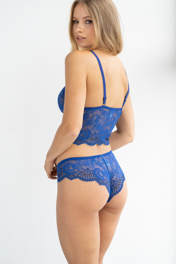 Бралетт кружевной Kleo 3020 ROYAL BLUE