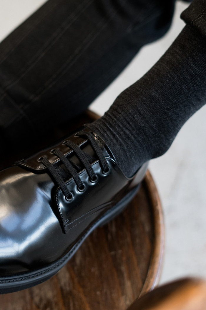 Високі шкарпетки чоловічі з вовни мериноса STEVEN Merino Wool 008