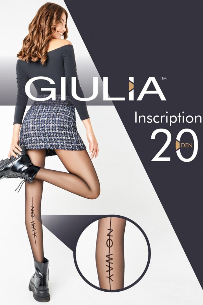 Колготки с надписями GIULIA Inscription 20 model 1
