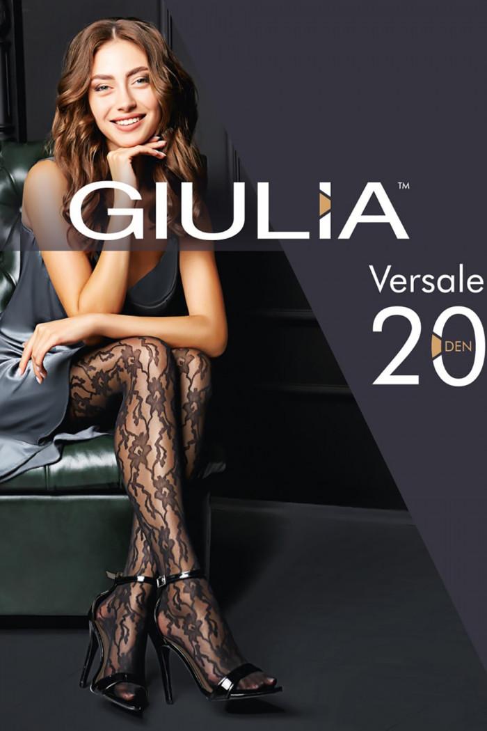 Колготки с узором GIULIA Versale 20 model 1