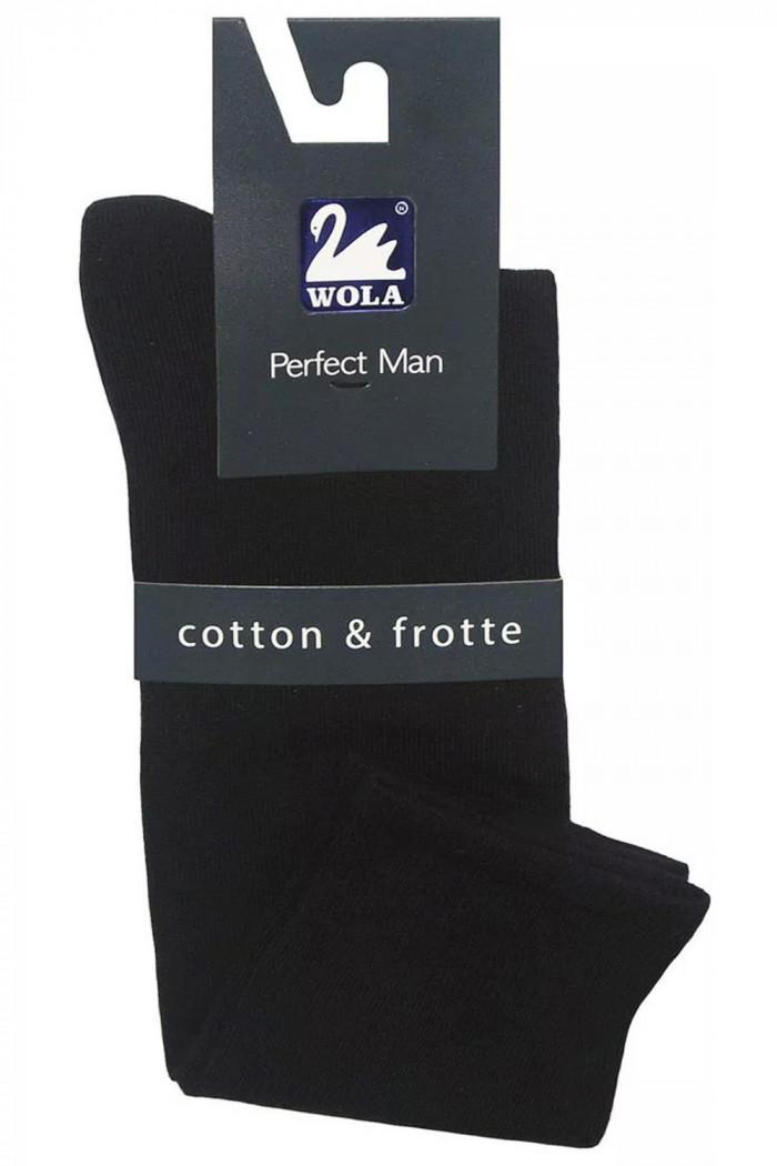 Високі шкарпетки-гольфи з утепленою стопою Gatta Wola Perfect Man W93.11