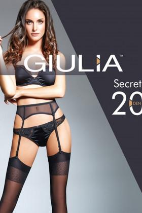 Чулки под пояс GIULIA Secret 20 model 12 (20 den)