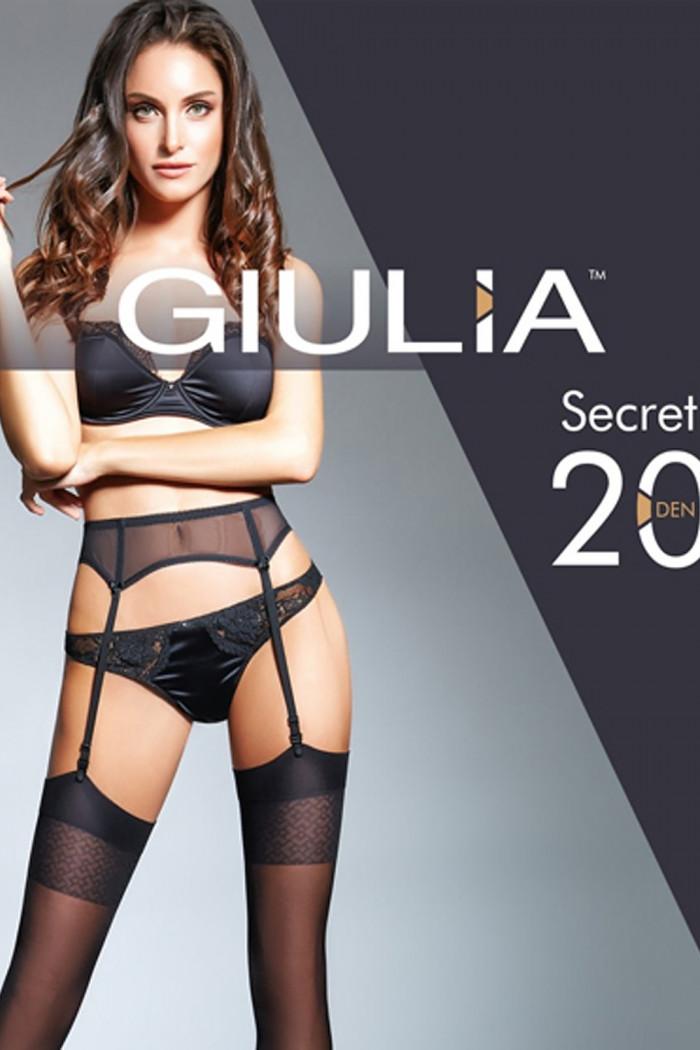 Панчохи під пояс GIULIA Secret 20 model 12 (20 den)