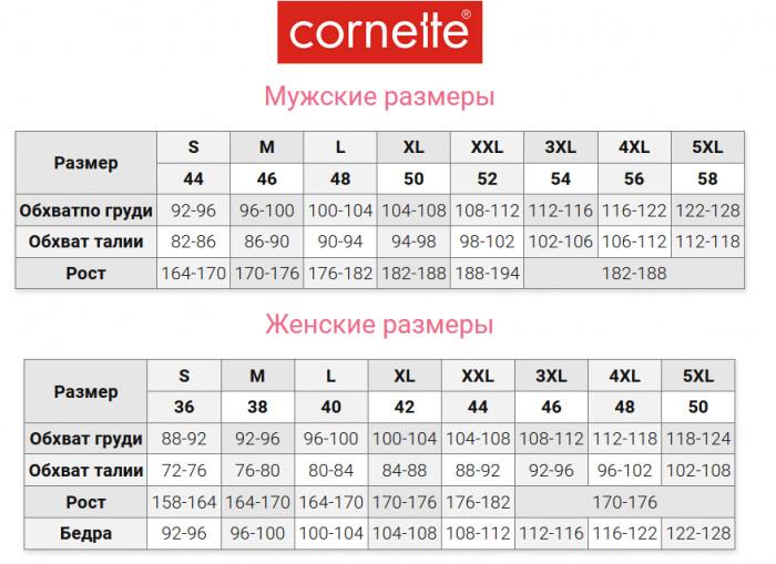 Трусы-боксеры с ярким принтом Cornette 010/68 You & Me