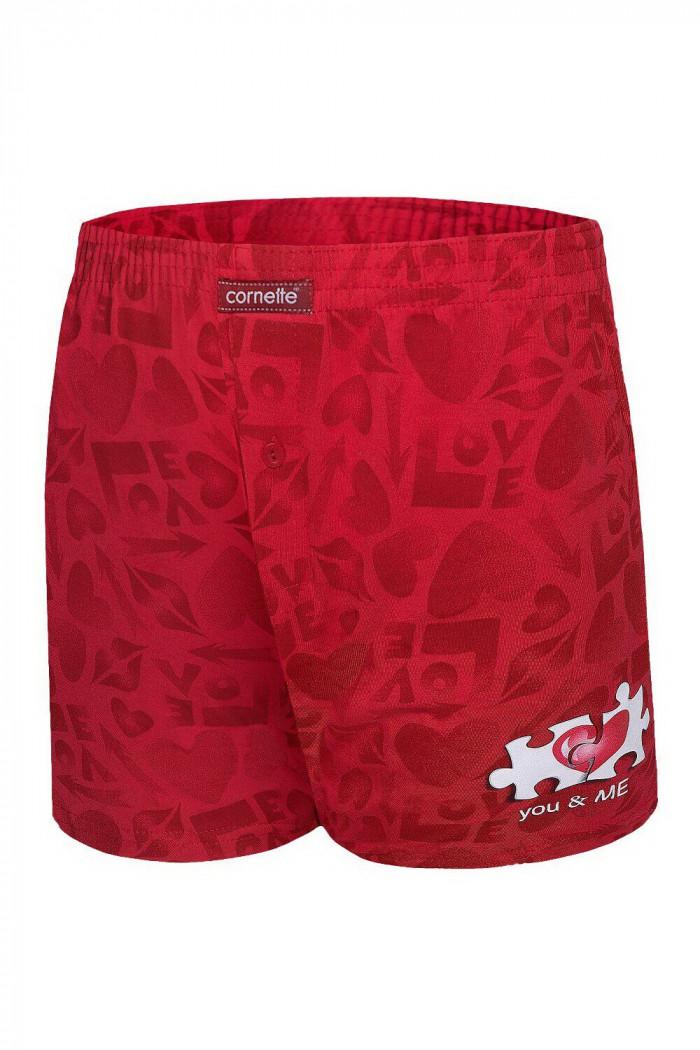 Трусы-боксеры с ярким принтом Cornette 015/09 You & Me 2