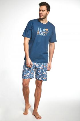 Мужской комплект с шортами Cornette 326/70 Flamingo