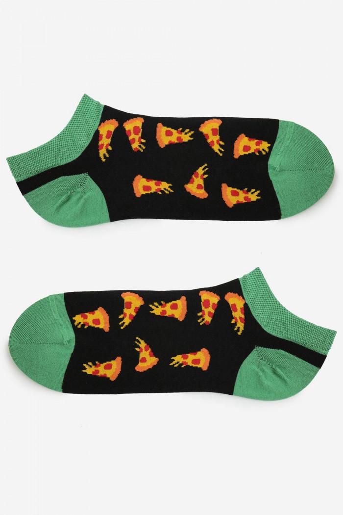 Шкарпетки чоловічі з кольоровим принтом MARILYN FOOTIES PIZZA