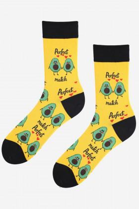 Шкарпетки чоловічі з кольоровим принтом MARILYN AVOCADO