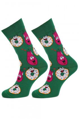 Шкарпетки чоловічі з малюнком MARILYN CRAZY LOVE