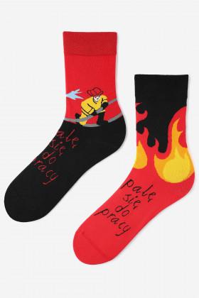Шкарпетки чоловічі з малюнком MARILYN FIREMAN
