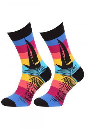 Мужские носки с рисунком MARILYN SAILING