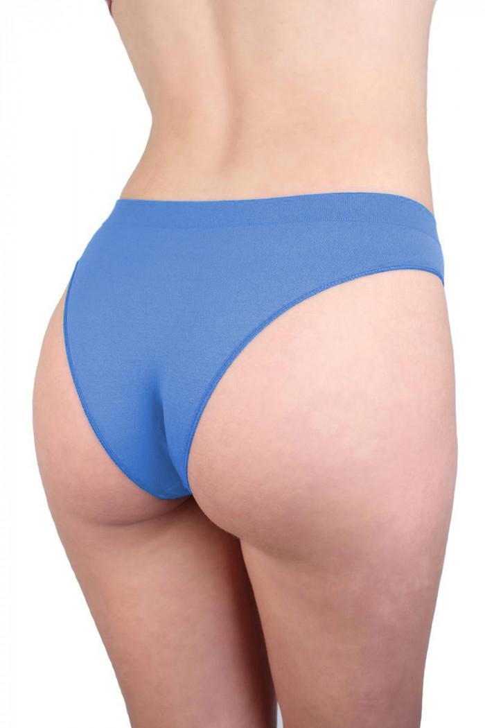 Трусики-бразилиана безшовні Giulia Slip Brasilliana Amparo Blue