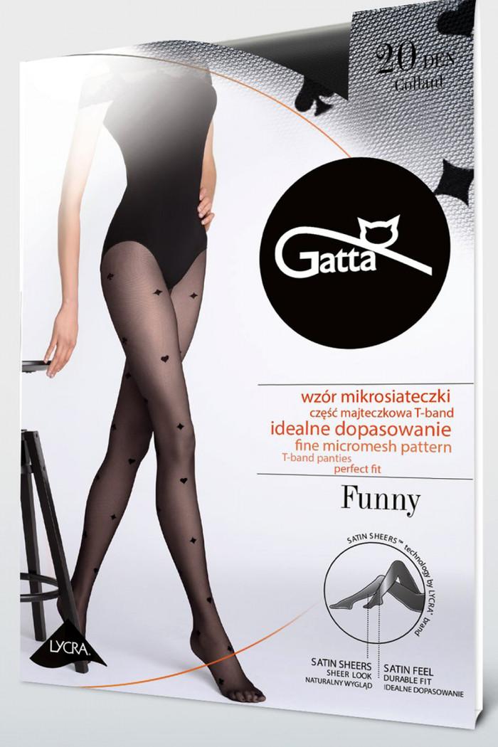Колготки с принтом мастей GATTA FUNNY 09 20den