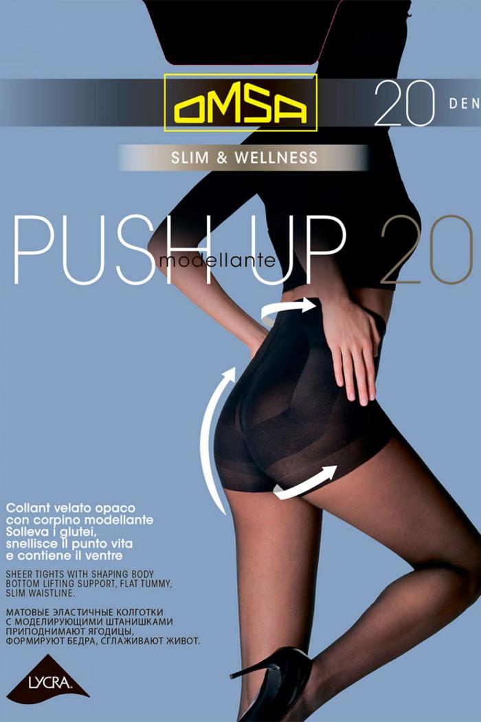 Колготки с корректирующим эффектом Omsa Push-Up 20 den