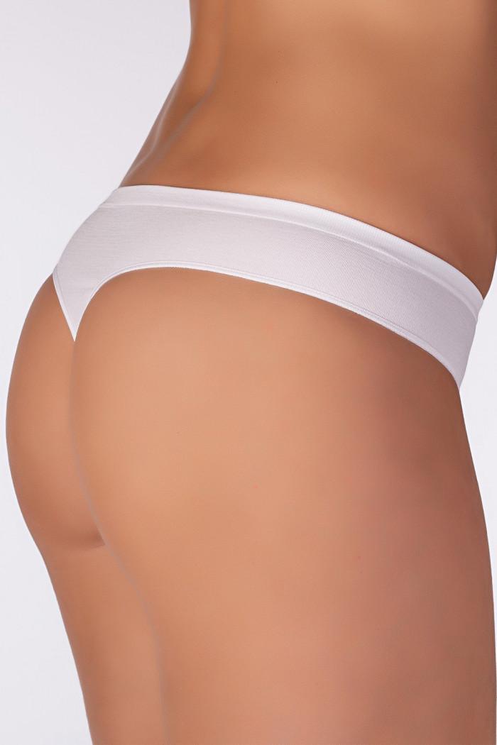 Трусики-стринг безшовні Giulia String briefs White